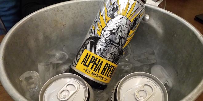 Cerveja Apha Ryeno - Dogma e JBeer