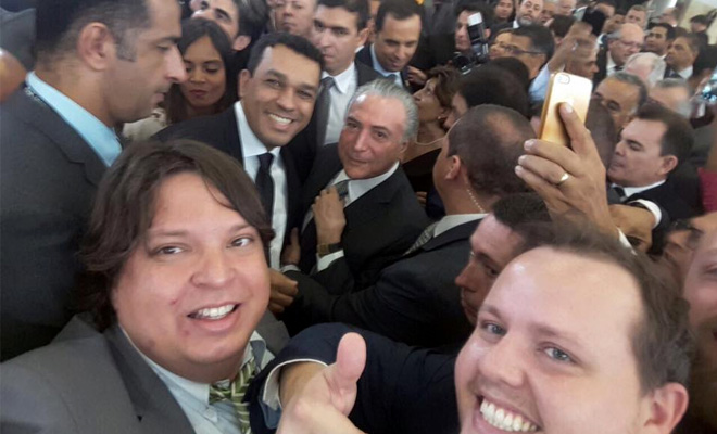 Abracerva em Brasília com o presidente Michel Temer