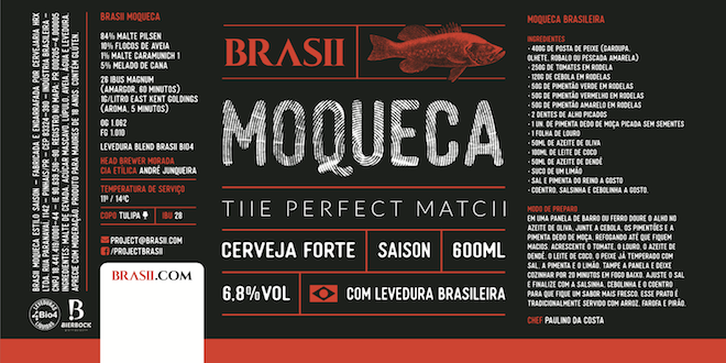 Brasii Moqueca - Rótulo