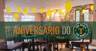 São Paulo Tap House: aniversário de 1 ano