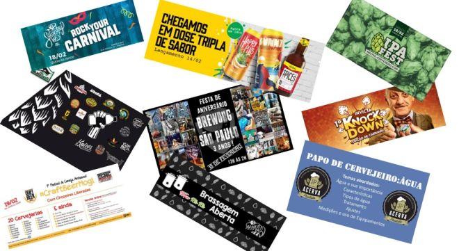 Agenda Eventos Cervejeiros - fevereiro