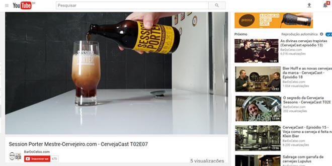 Session Porter do Mestre-Cervejeiro.com na degustação do CervejaCast