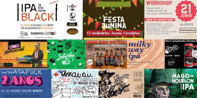 IPA Is The New Black, 2 Anos de Whatafuck e muita festa junina cervejeira são dos destaques da semana