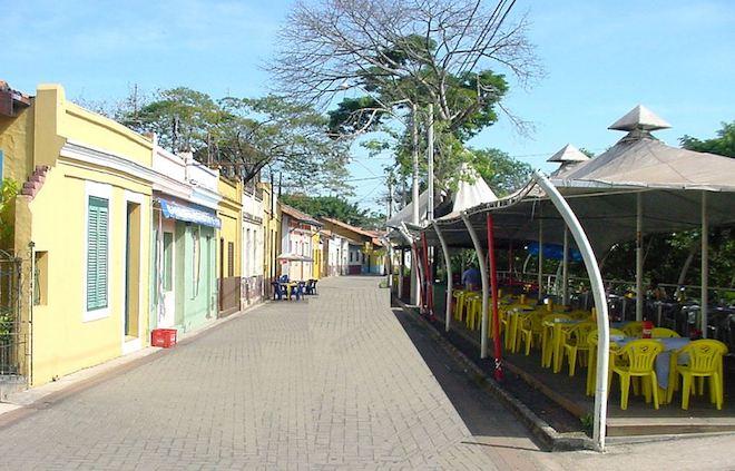 Rua do Porto em Piracicaba
