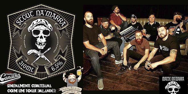 Stout Na Marra será lançada nesse sábado com show da banda em Curitiba