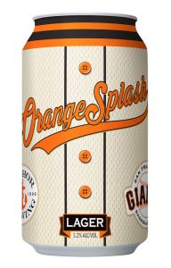 Cervejaria Giants Orange Splash Lager