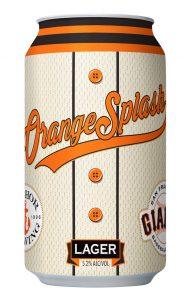 Cervejaria Giants Orange Splash Lager