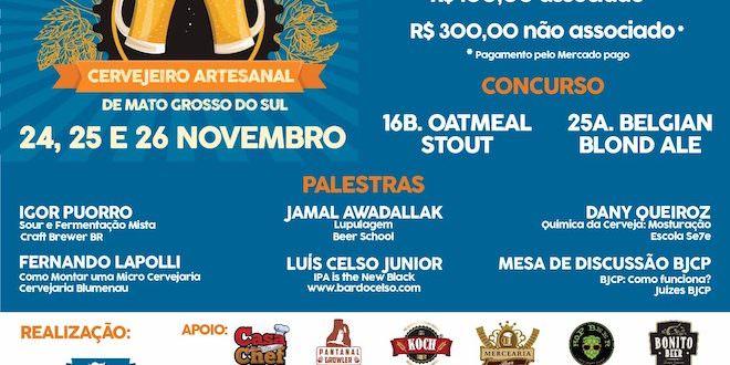 1 Festival do Cervejeiro Artesanal de MS