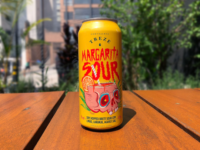 Cervejaria Treze Margarita Sour