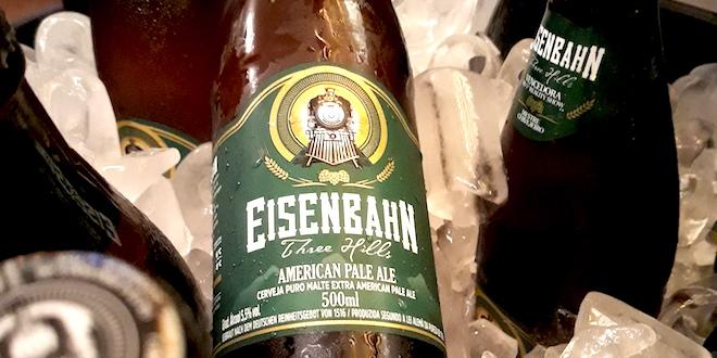 Eisenbahn American Pale Ale é lançada em São Paulo