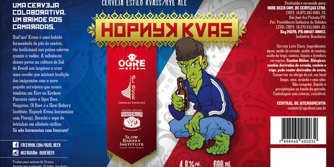 Ogre Beer lança colaborativa híbrida de Kvass com Session Rye Ale