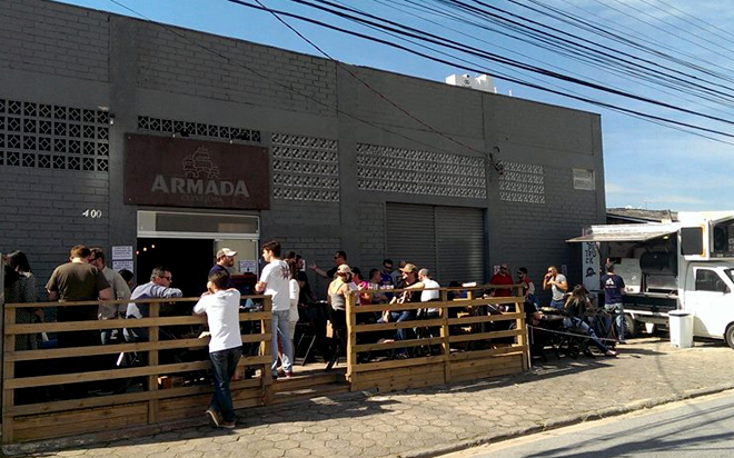 Armada Cervejeira fachada