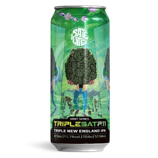 Cerveja Satélite Triplesat p11 Triple NE IPA