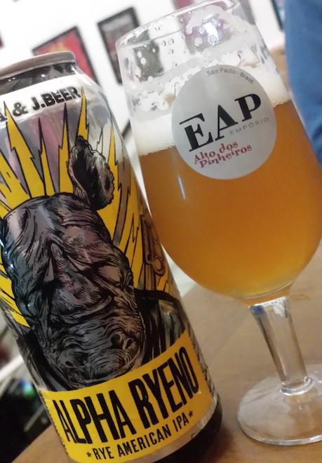 Cerveja Alpha Ryeno - Dogma e JBeer