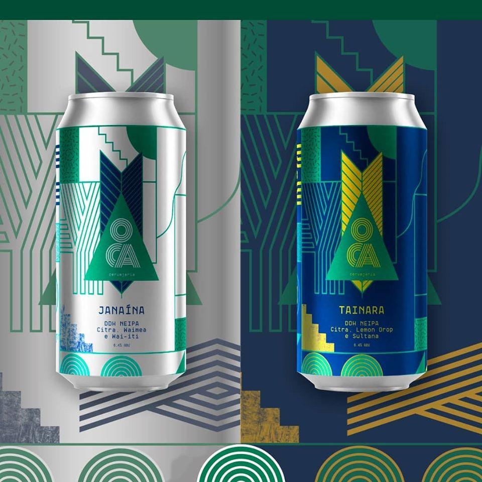 Cervejaria Oca lança duas novas NE IPA: Janaina e Tainara