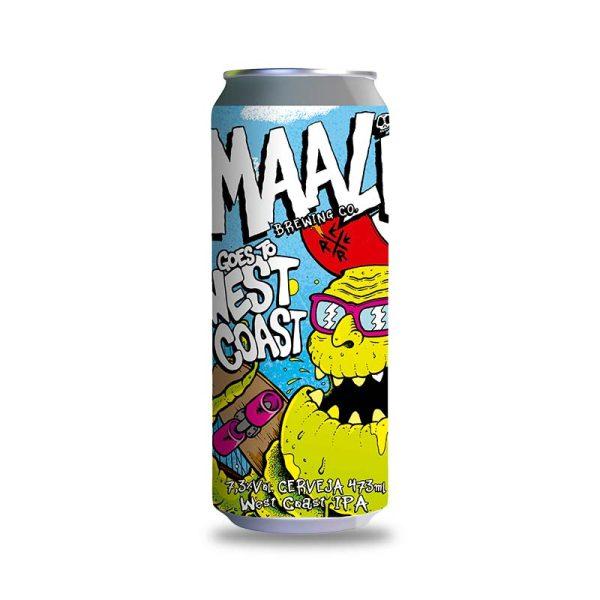 Cerveja Maali Goes To West Coast