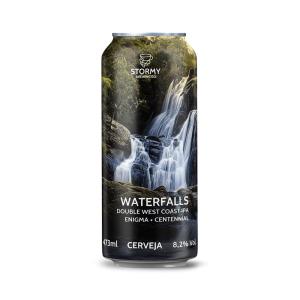 Cerveja Stormy Waterfalls Double West Coast IPA