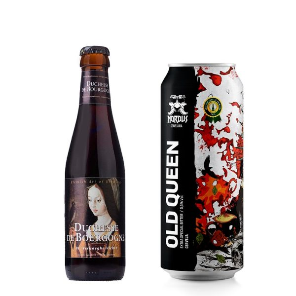 Cerveja Nordus Old Queen ESB e Duchesse de Borgogne